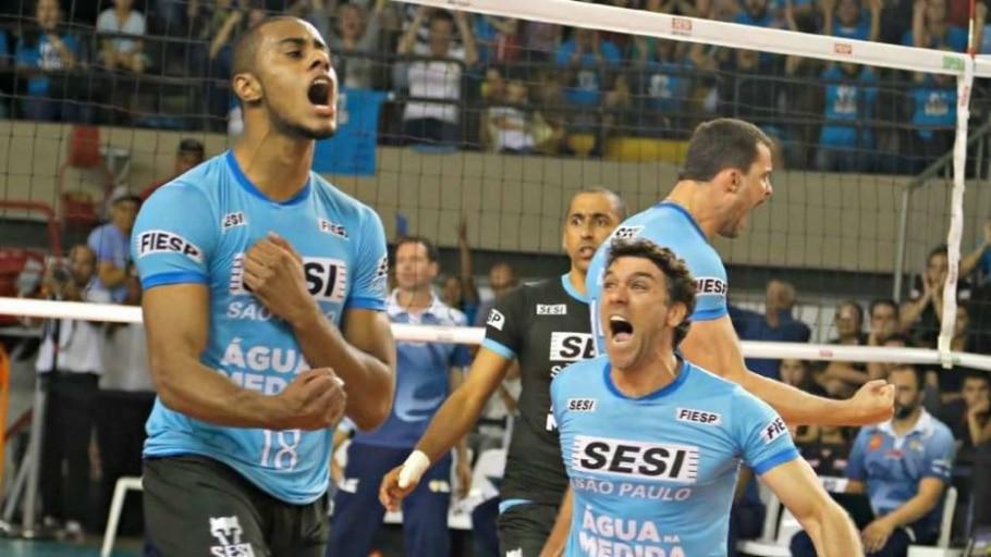 Sesi derruba Taubaté e reencontra o Cruzeiro na decisão da Superliga - Divulgação