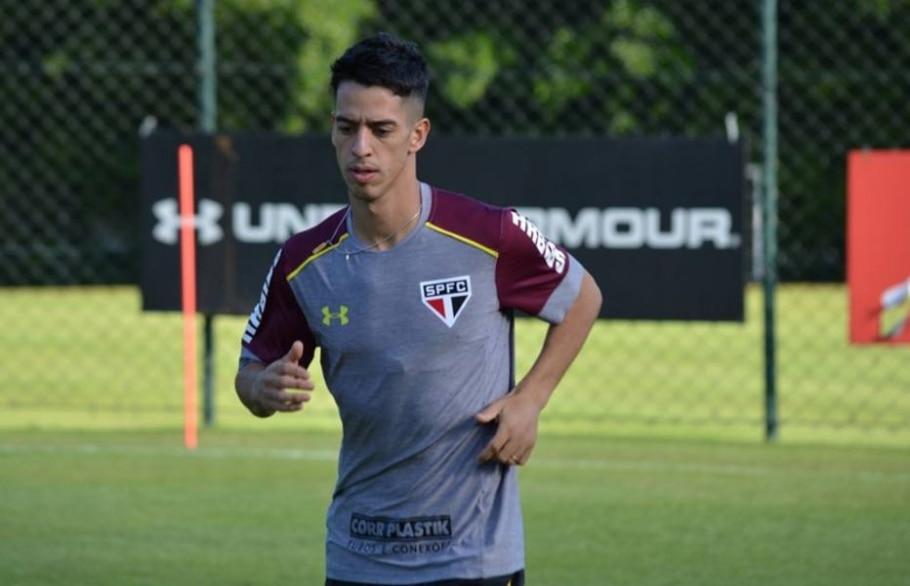 Thomaz, meia do São Paulo FC - Érico Leonan/ saopaulofc.net