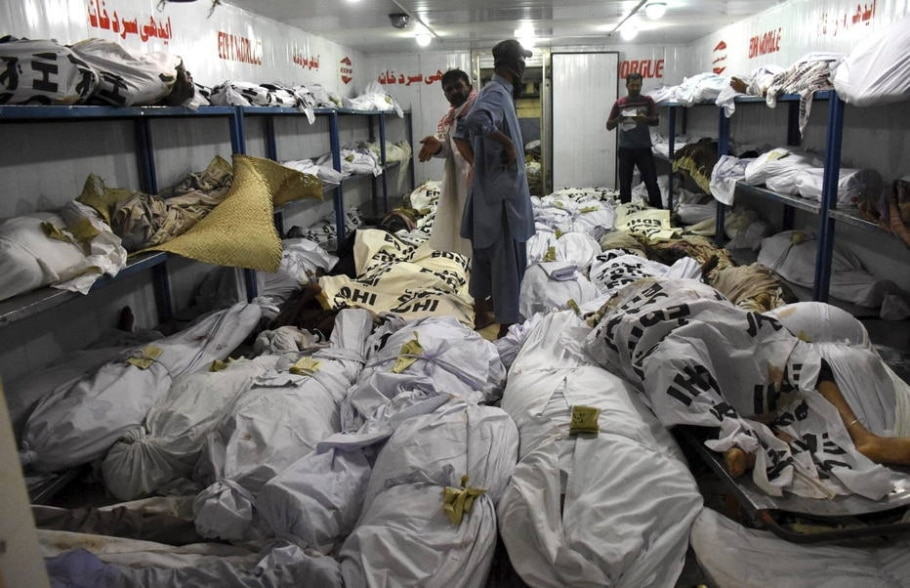 Onda de calor mata centenas no Paquistão - EFE/Shahzaib Akber