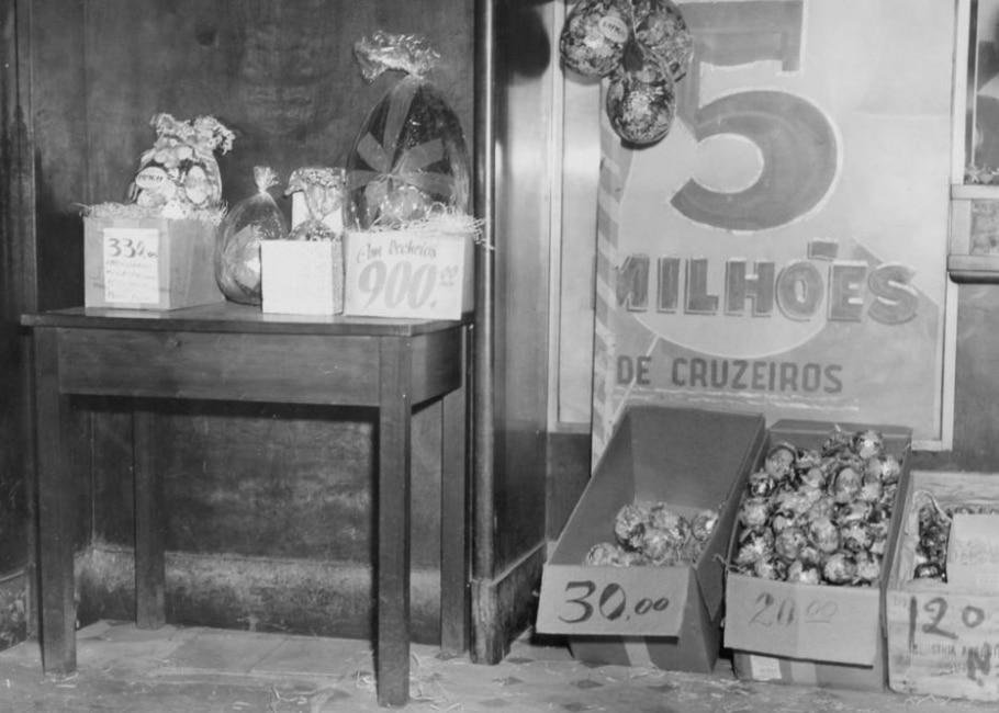 Ovos de Páscoa em 1956 - Acervo/Estadão