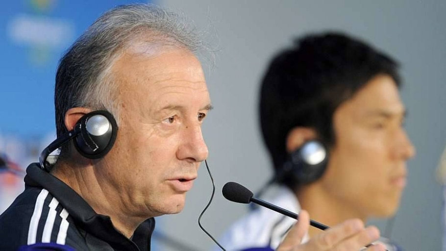 Japão precisa vencer e torcer pela Grécia para garantir vaga - Gerry Penny/EFE