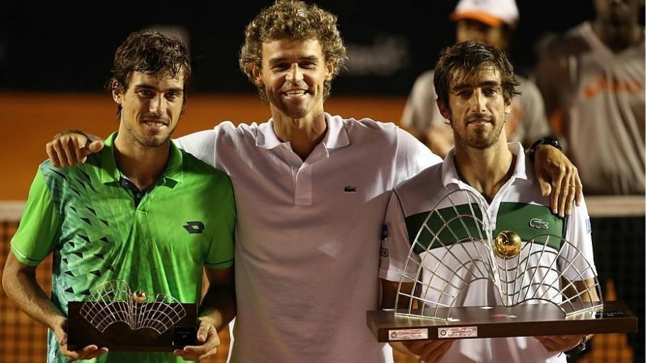 Pablo Cuevas derrota argentino Guido Pella e conquista o Rio Open - Fotojump/Divulgação