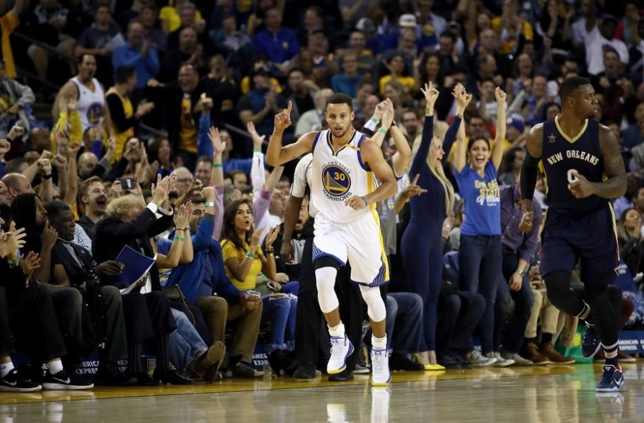 Stephen Curry - Ezra Shaw/AFP