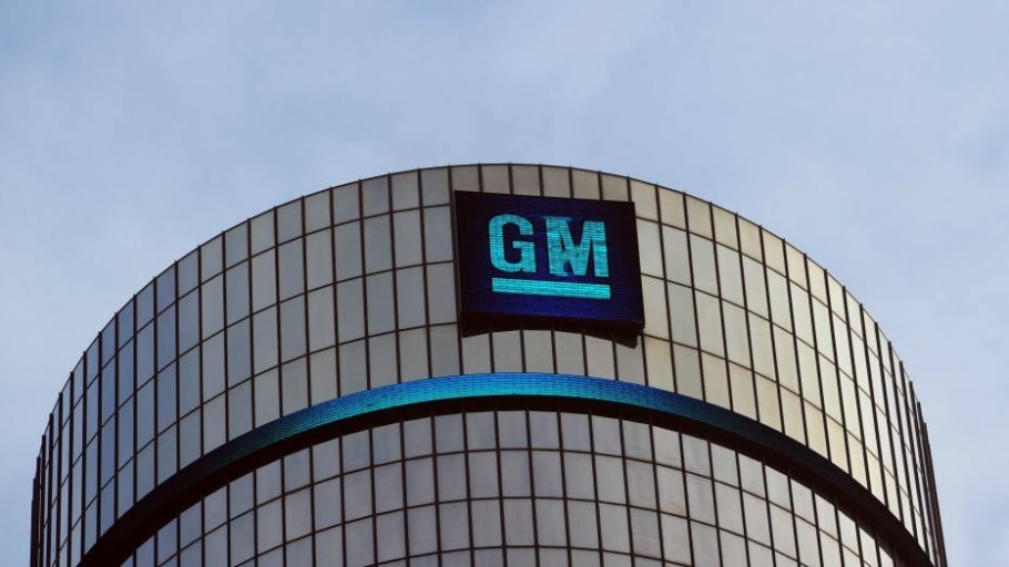 Fachada da General Motors (GM) - Stan Honda/AFP