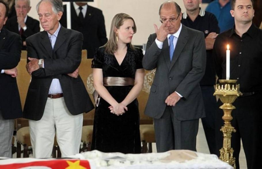 Alckmin comparece ao velório do ex-governador - Evelson de Freitas/AE
