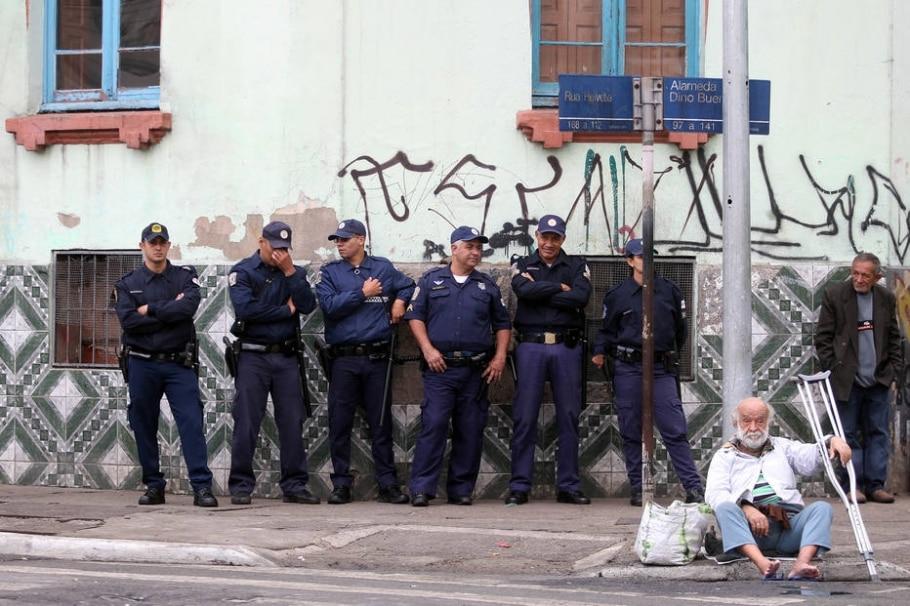 Operação na Cracolândia foi 'muito bem-sucedida', diz GCM - Felipe Rau/Estadão