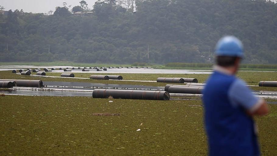 Transposição vai levar água do braço Rio Grande para Represa Taiaçupeba - Felipe Rau/Estadão