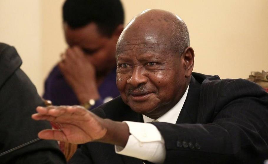 Yoweri Museveni - Presidente de Uganda há 29 anos - Tiksa Negeri/REUTERS
