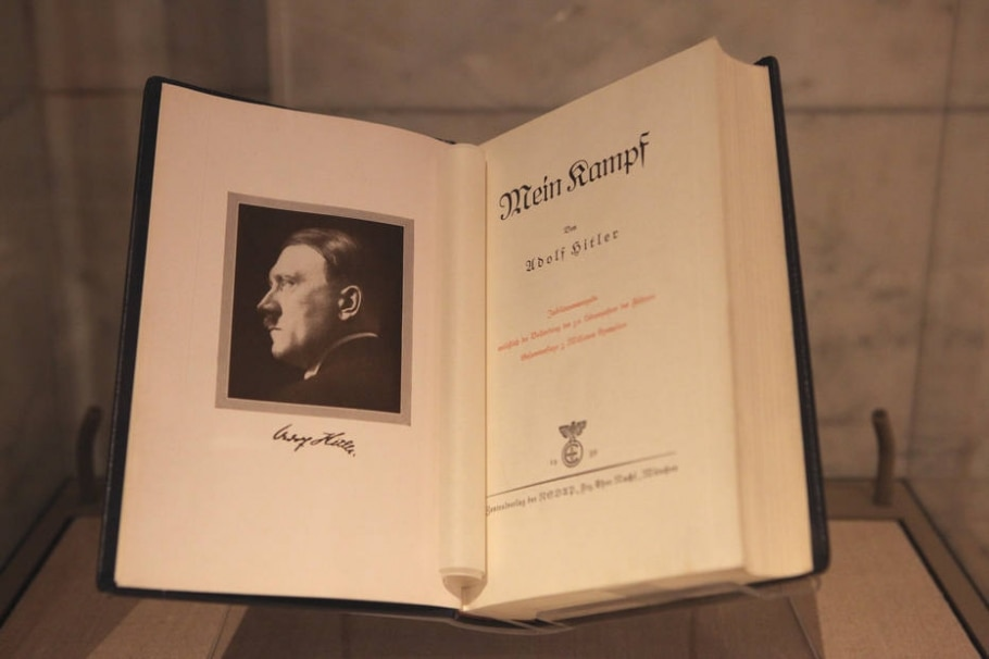 Minha Luta - Adolf Hitler - Sara Krulwich/The New York Times