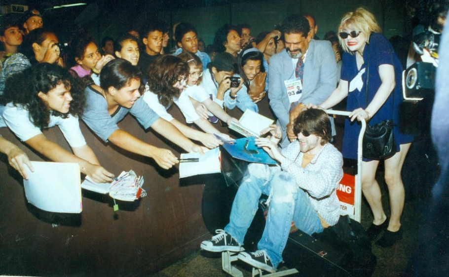 Kurt Cobain no Brasil - Márcia Zoet/ Estadão