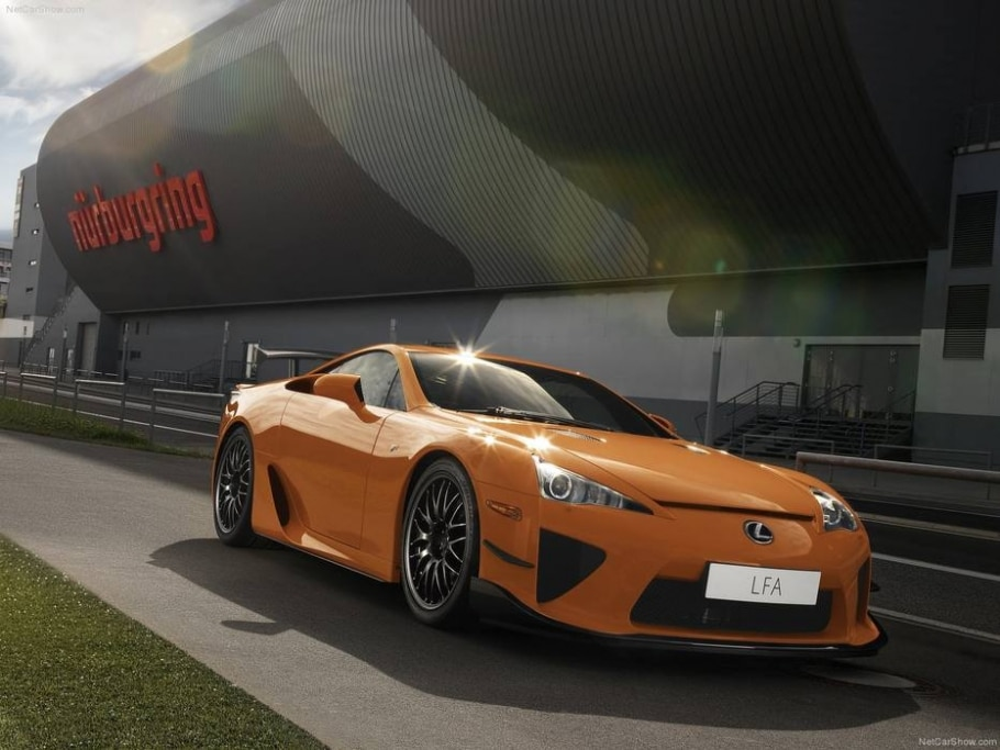 Lexus LFA Nurburgring Package -