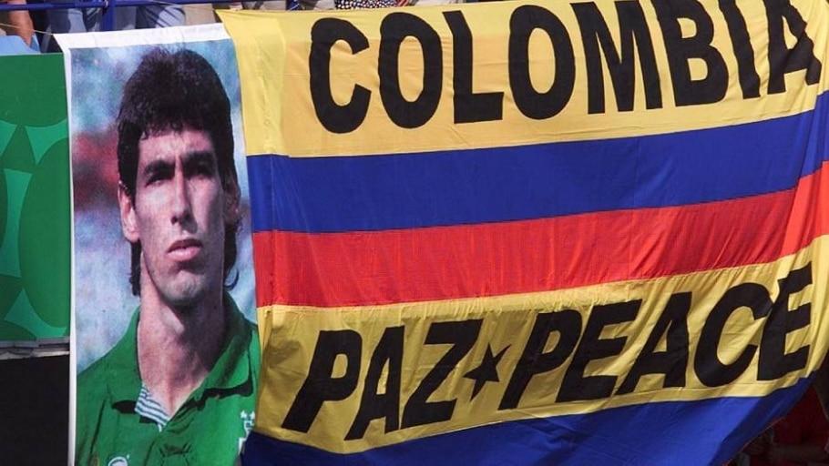 Homenagem para Andrés Escobar - Ruben Sprich/Reuters
