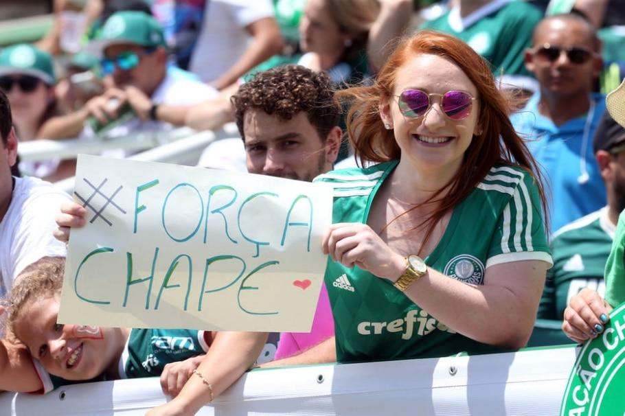 Jogo da Amizade entre Chapecoense e Palmeiras - JF Diorio/Estadão