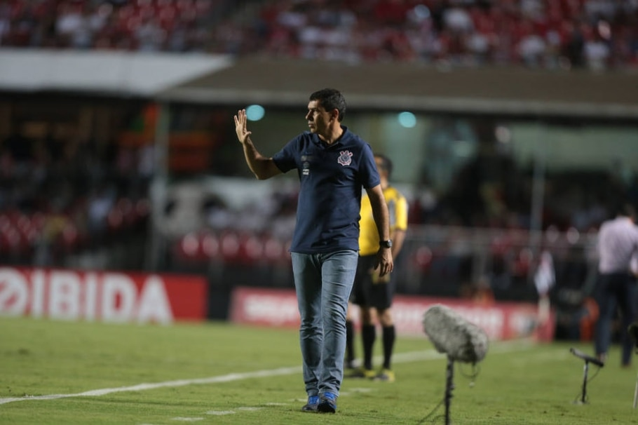 Fábio Carille, técnico do Corinthians - Alex Silva/ Estadão