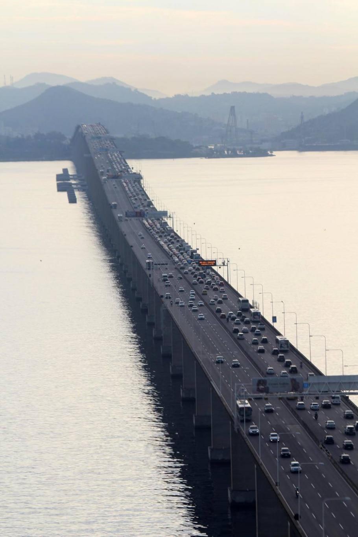 Ponte Rio-Niterói - CARLOS EDUARDO CARDOSO/AGÊNCIA O DIA