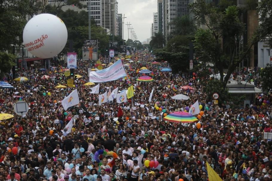 Parada Gay - Gabriela Biló/Estadão