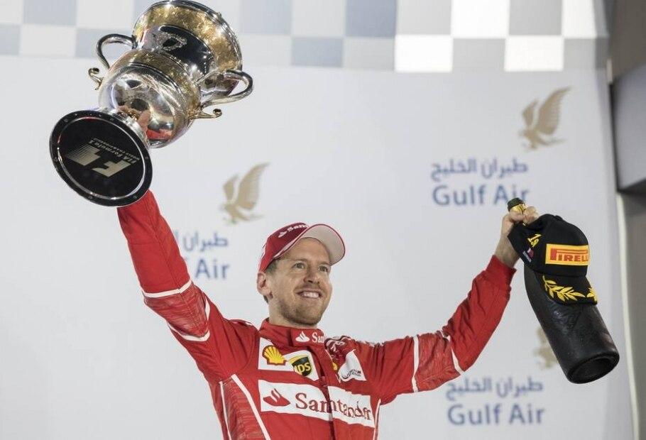 Sebastian Vettel, piloto da Ferrai - Vandrin Xhemaj/ EFE