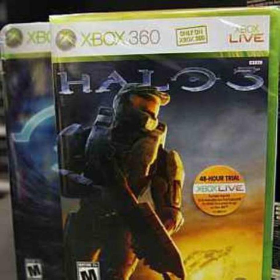 Embalagem do recém-lançado jogo Halo 3 arranha o disco e Microsoft anuncia recall. 26/9/2007 - Reuters