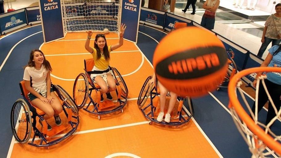 Basquete em cadeira de rodas - Marcos Arcoverde/ Estadão