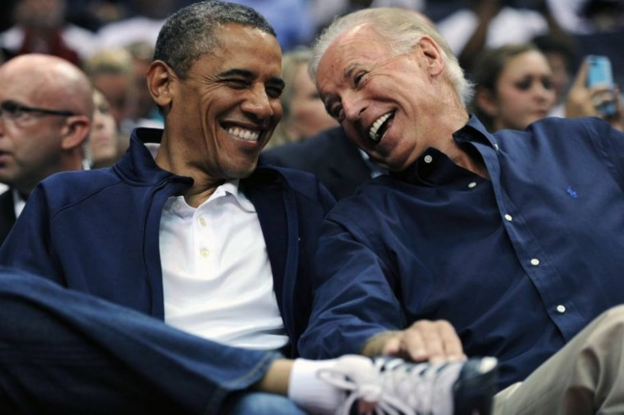 Obama e Biden - Patrick Smith/Getty Images