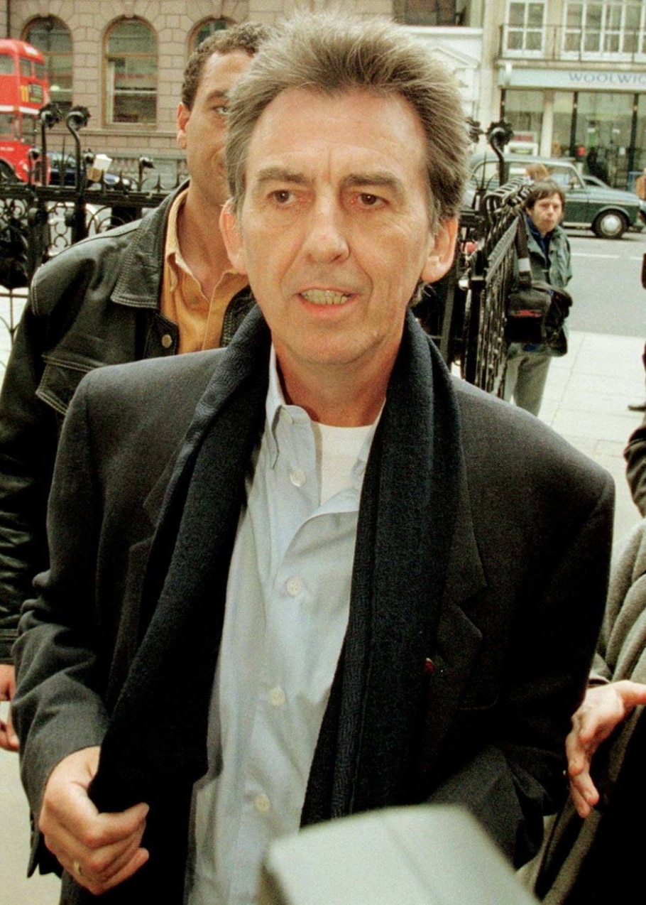 George Harrison em 1998 - KIERAN DOHERTY/REUTERS
