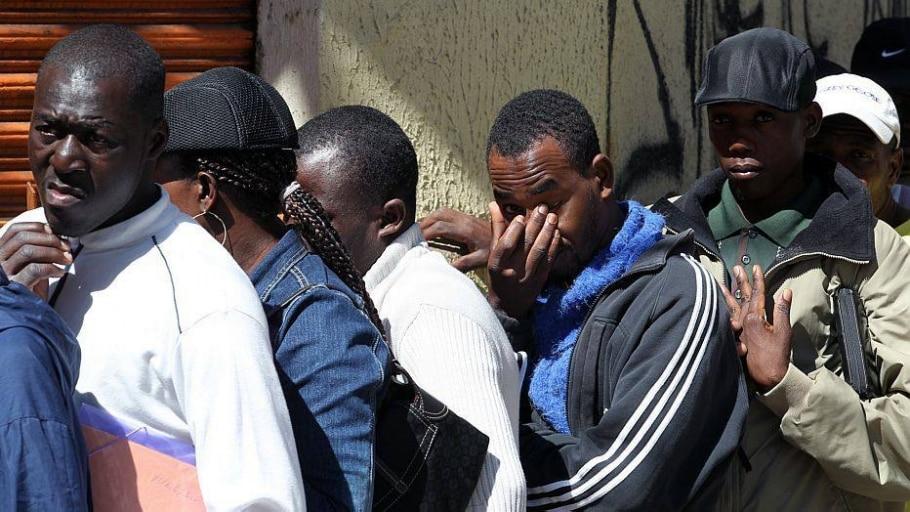 Auxilio aos haitianos está concentrado na Pastoral do Imigrante, no Glicério - Sergio de Castro/Estadão