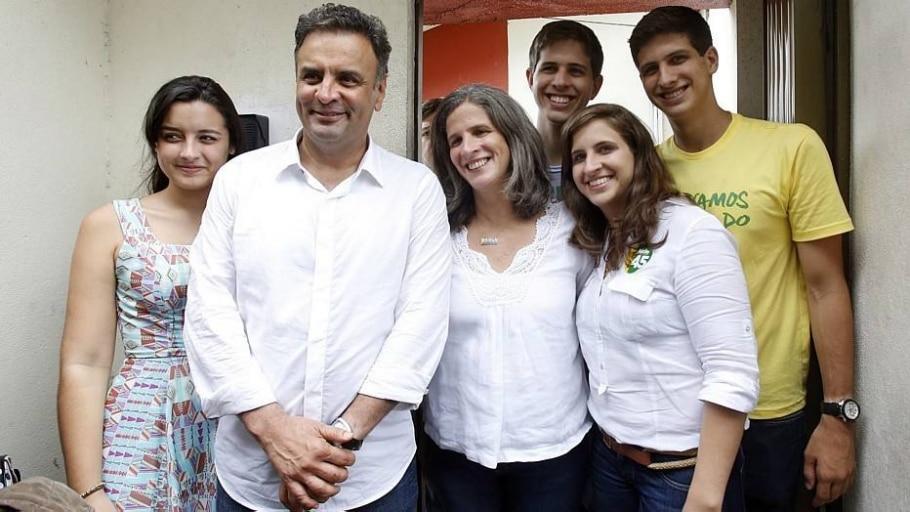 Renata Campos anuncia apoio a Aécio Neves - André Dusek/Estadão