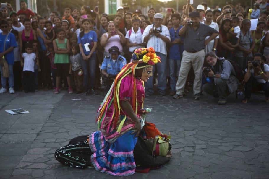 XI Festival Internacional de Poesia de Granada - AP Photo/Esteban Felix