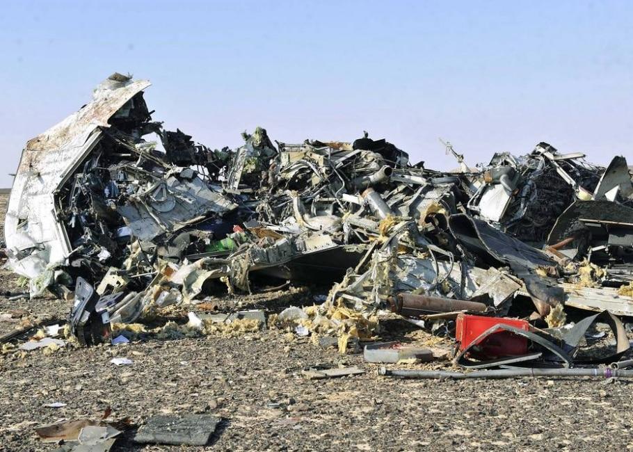 Airbus 321 russo da Kogalymavia cai em Sinai, no Egito - EFE/EPA/STR EGYPT OUT