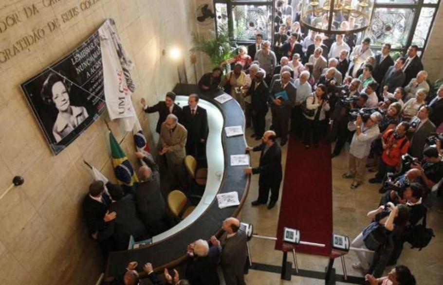 OAB promove ato público pelos 30 anos do atentado que matou a secretária Lyda Monteiro, RJ - Marcos de Paula/AE