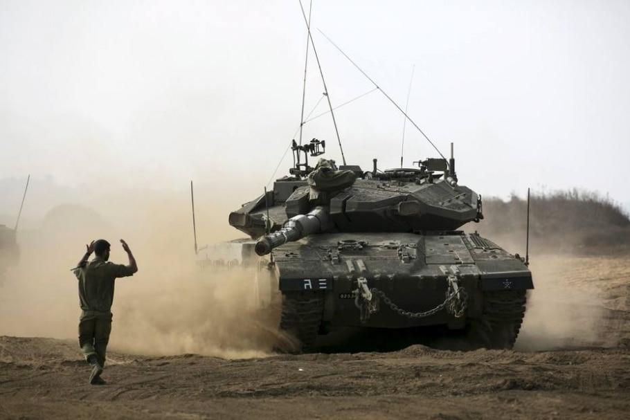 Bombardeio israelense na Síria deixa 6 mortos e 7 feridos - Reuters / Baz Ratner