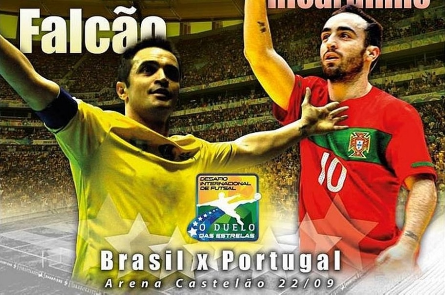 Futsal Brasil Portugal - Reprodução