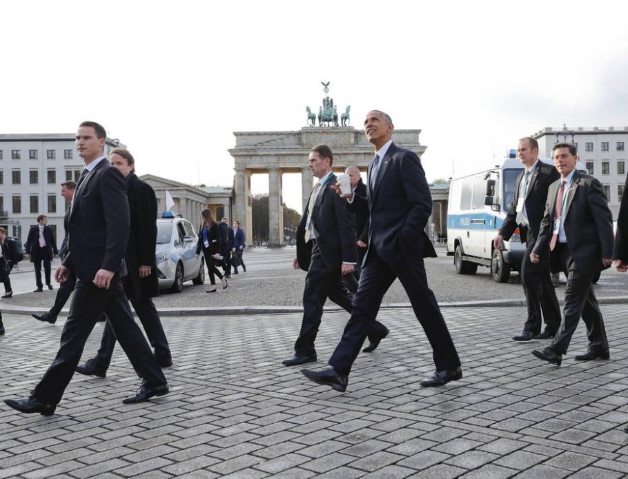 Obama e Merkel: principais aliados desde 2008 - AP Photo/Pablo Martinez Monsivais