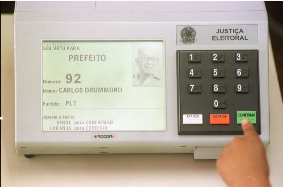 Urna eletrônica - Celso Junior/Estadão Conteúdo
