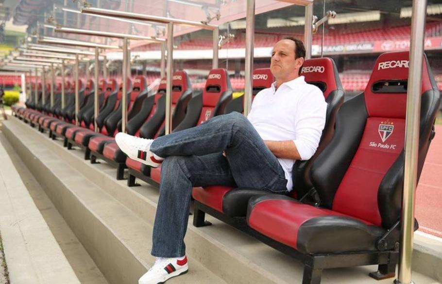 Rogério Ceni, técnico do São Paulo - Igor Amorim / saopaulofc.net