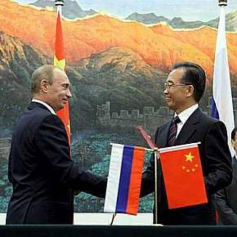 Rússia e China se reaproximam e selam acordos comerciais - Alexey Druzhinyn/Efe