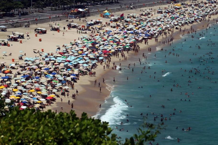 Praia do Leblon - Marcos De Paula/Estadão