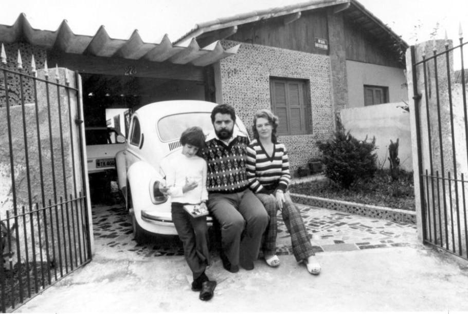 Marisa Letícia com a família - Kenji Honda/ Estadão