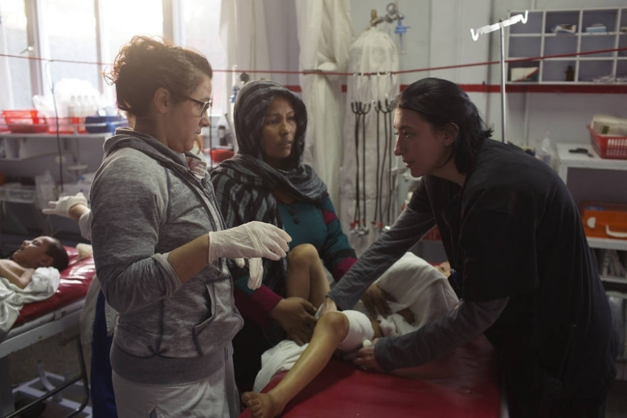 Hospital da Médicos sem Fronteiras  - Victor J. Blue/The New York Times