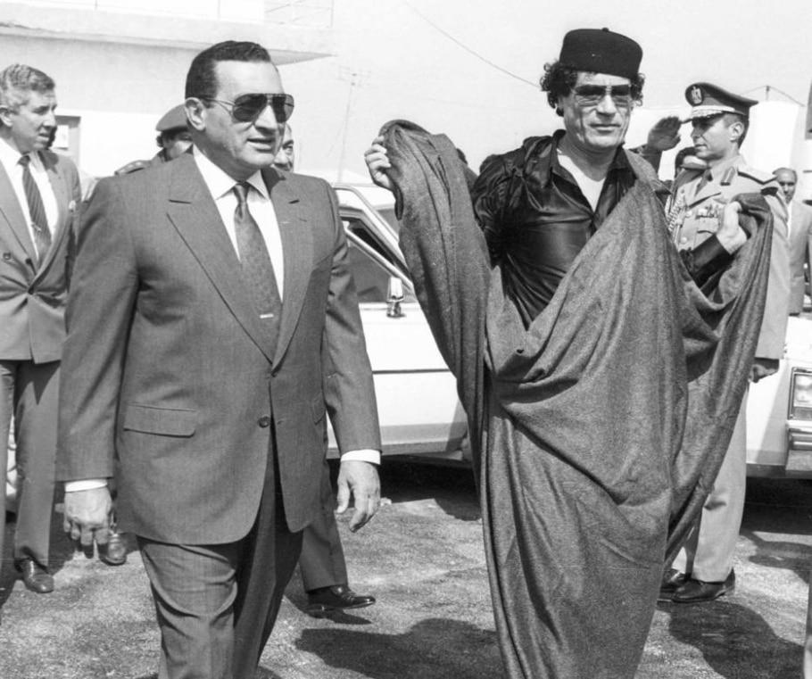 Quatro anos sem o ditador líbio Muamar Kadafi - REUTERS/Frederic Neema
