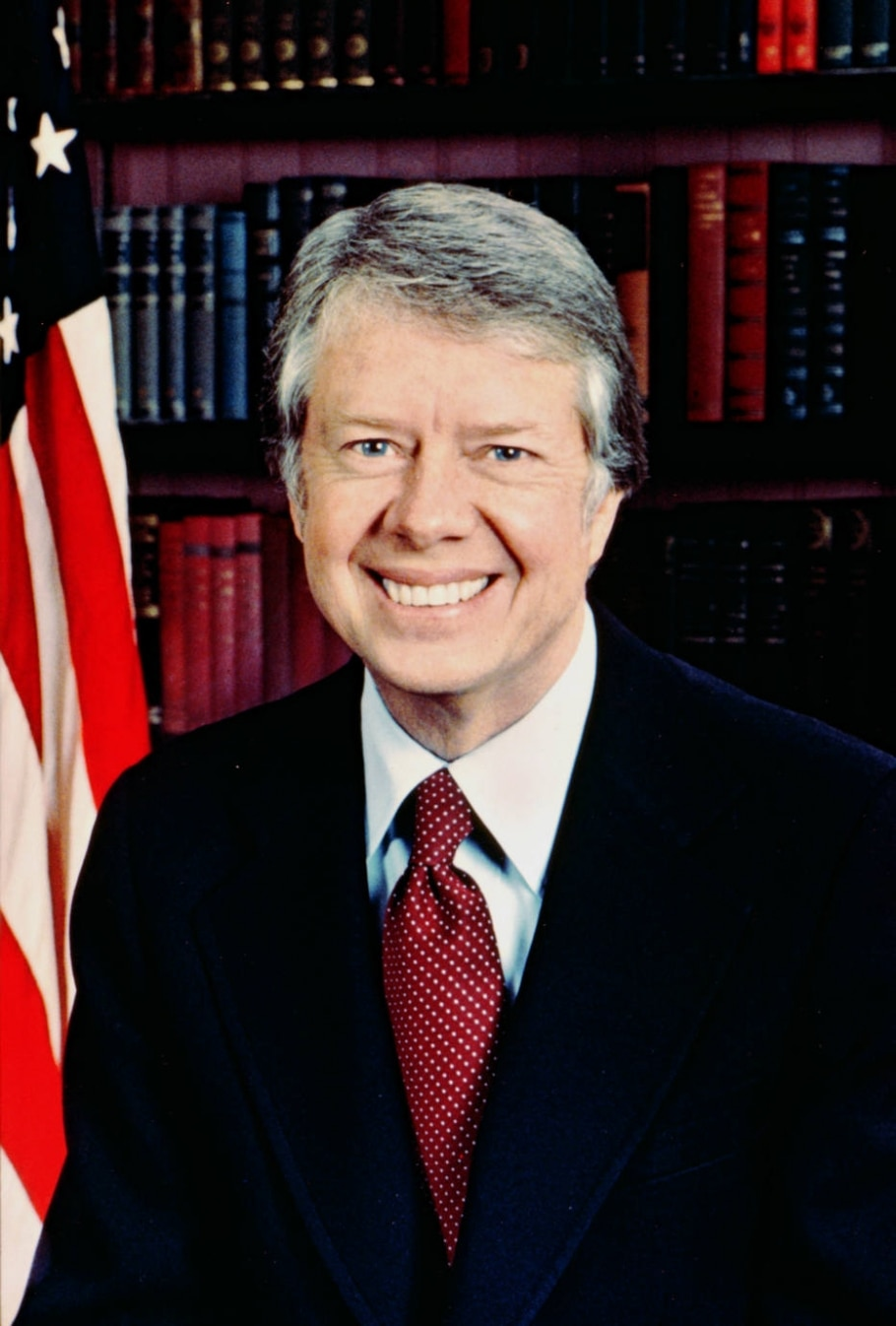 39. Jimmy Carter - Foto oficial da Casa Branca