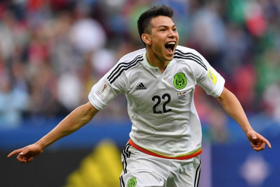 Hirving Lozano, atacante do México - Yuri Cortez/ AFP Photo