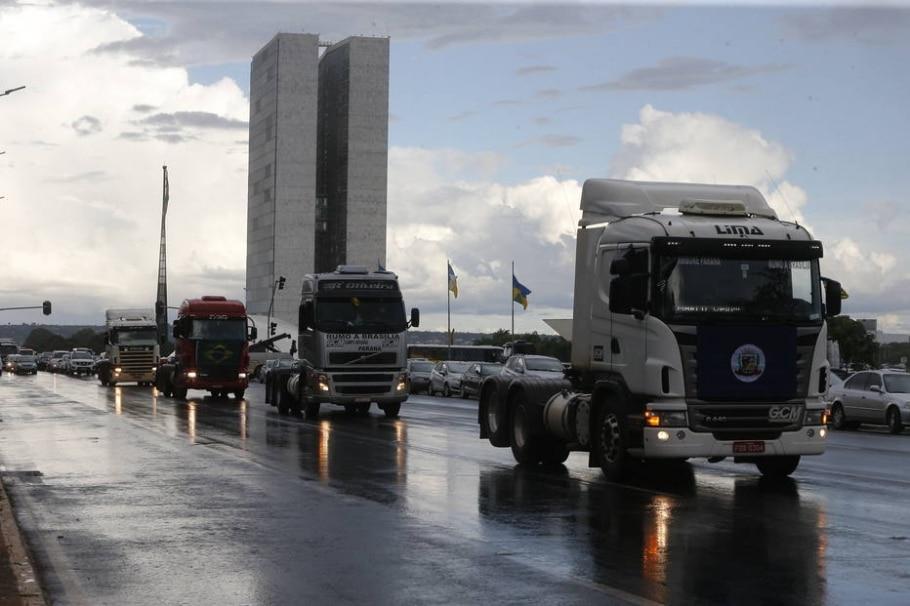 Caminhoneiros  - Dida Sampaio/Estadão