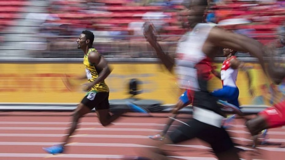 Atletismo Rasheed Dwyer - Jim Watson/ AFP