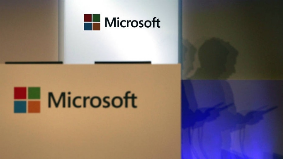 Logotipo da Microsoft - Reuters