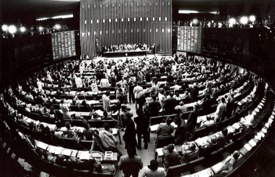 Constituição de 88  - Arquivo EBC e Câmara dos Deputados/ Divulgação