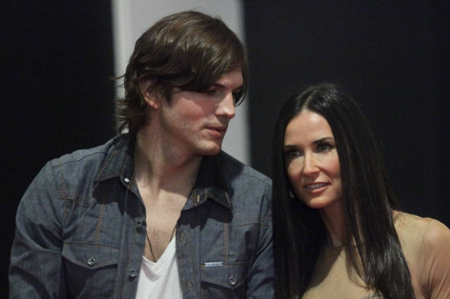 Ashton Kutcher e Demi Moore - Daniel Teixeira/ Estadão