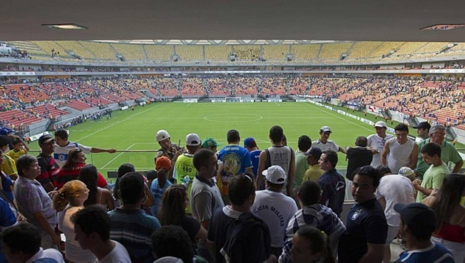 Arena da Amazônia - Bruno Kelly/Reuters - 9/3/2014