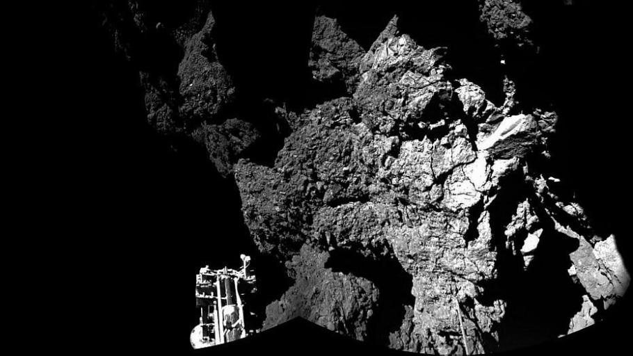 Agência Espacial divulga 1ª fotografia tirada em cometa - Agência Espacial Europeia/Rosetta/AFP