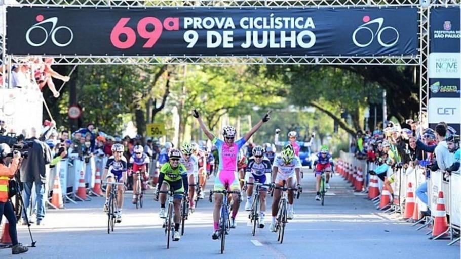 Prova Ciclística 9 de Julho - Sergio Barzaghi/ Divulgação